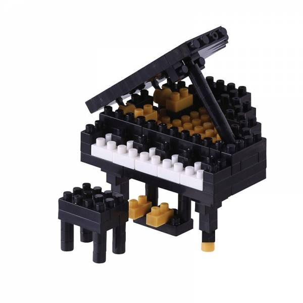 Mini NANOBLOCK Grand Piano 2
