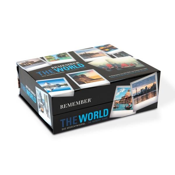 Gedächtnisspiel 44 The World in der Magnetbox