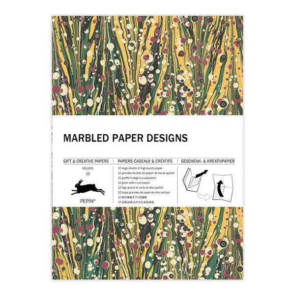 Gift & Creative Paper MARBLED PAPER DESIGNS