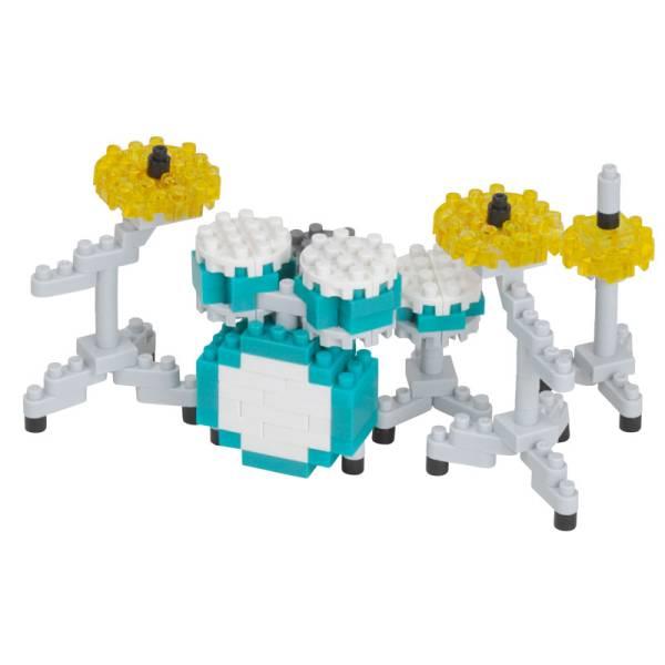 Mini NANOBLOCK Drum Set