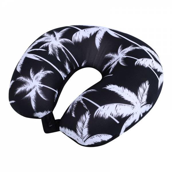 NECK PILLOW palm tree black