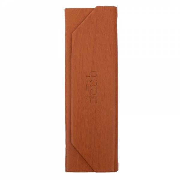 QP FOLDABLE GLASSES CASE SLIM wood