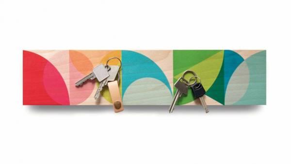 Holz Magnet-Schlüsselbord Solena