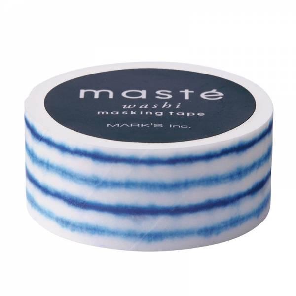 Masking tape MASTÉ Japanese, Shibori 15 mm