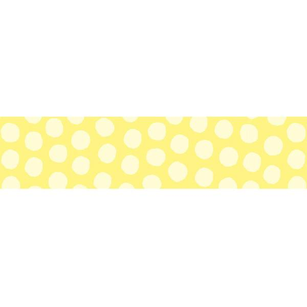 MASTÉ DRAW ME Dot Yellow 10 m / 15 mm