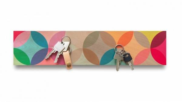 Holz Magnet-Schlüsselbord Fiesta