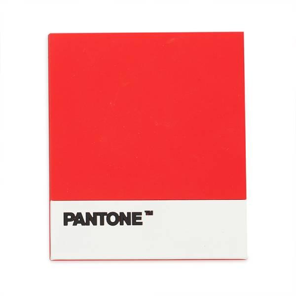 Topf-Untersetzer PANTONE rot aus Silikon