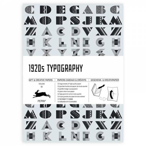 Gift & Creative Paper 1920s TYPOGRAPHIE