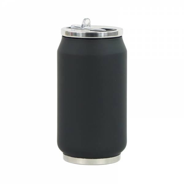 Trinkflasche CAN SOFT schwarz 280 ml