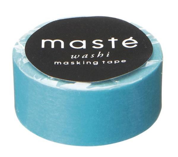 Masking tape MASTÉ BASIC turquoise