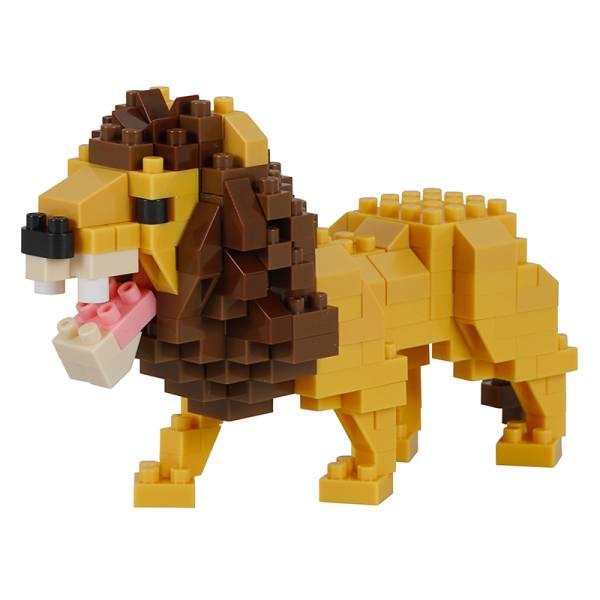 Mini NANOBLOCK Lion 3