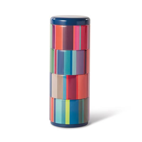 Stapelbares Dosenset 4er Set Stripes