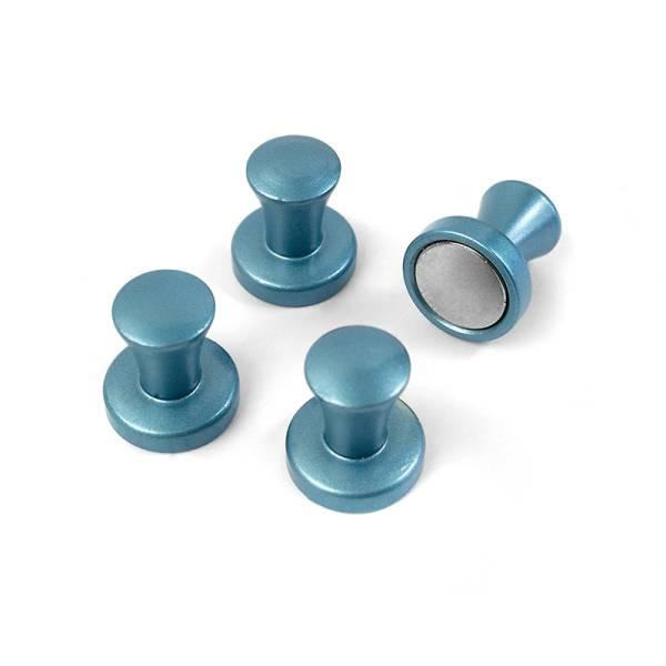 Superstrong Magnets MINI-MAX 4er Set blau