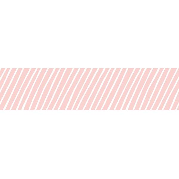 MASTÉ DRAW ME Stripe Pink 10 m / 15 mm
