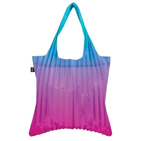 Tasche PLEATED Rainbow Blue