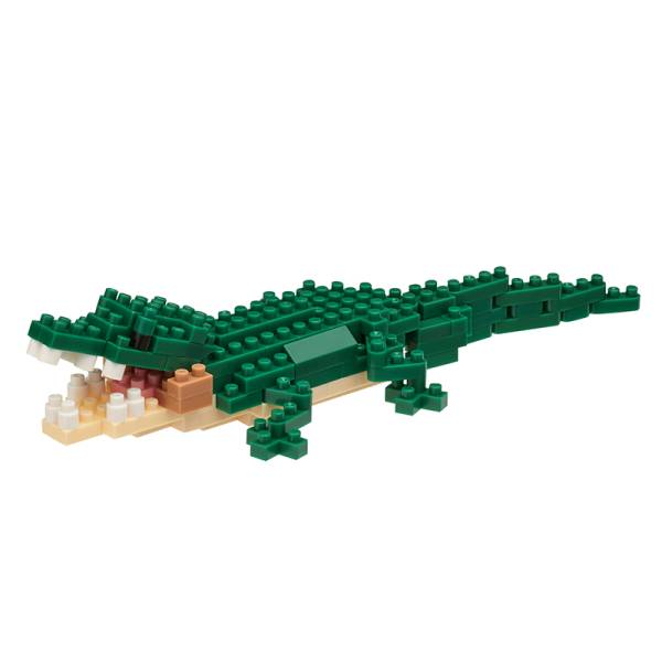 Mini NANOBLOCK Crocodile