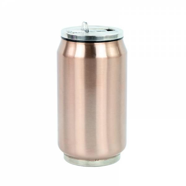 Trinkflasche CAN kupferfarben 280 ml