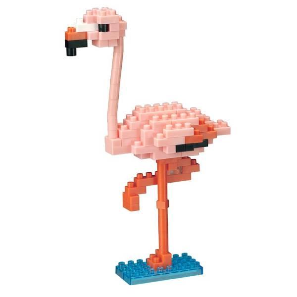 Mini NANOBLOCK Greater Flamingo 2