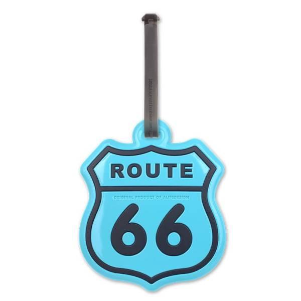 DC LUGGAGE DOLL ROUTE 66 blau