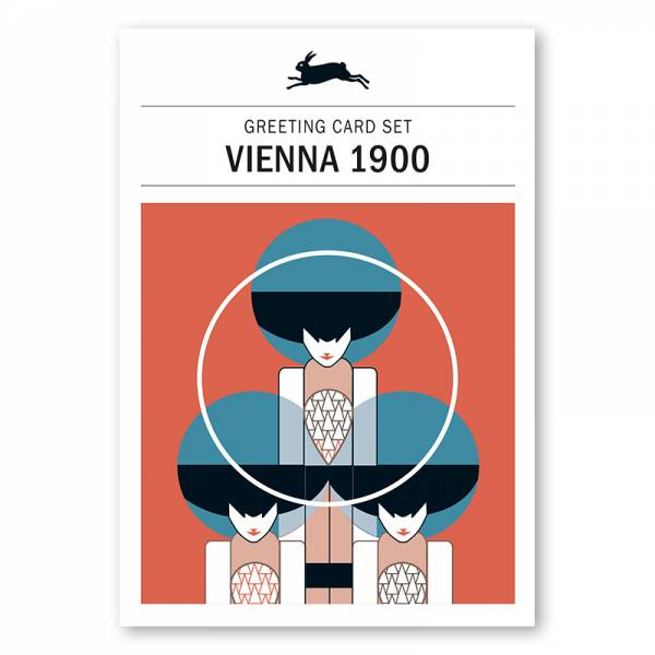 Greeting Card Set VIENNA 1900