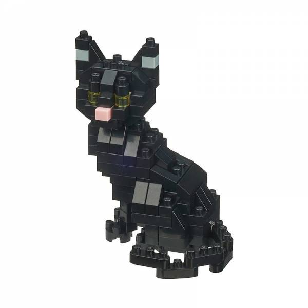 Mini NANOBLOCK Cat breed Black Cat