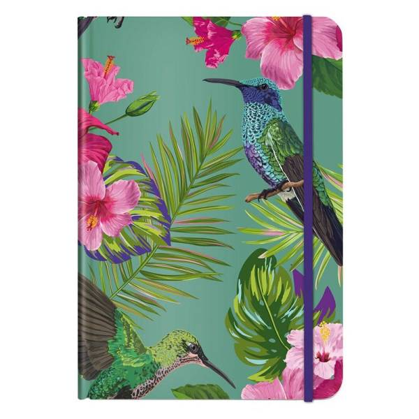 Notizbuch A5 FLOWER BIRD