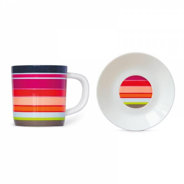 Espressotasse + Unterteller Felicita