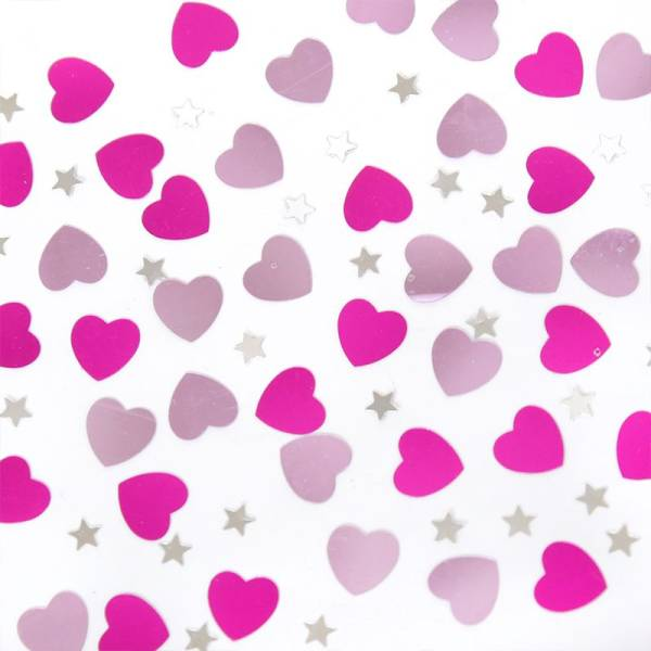 Table Scatter HEARTS & STARS