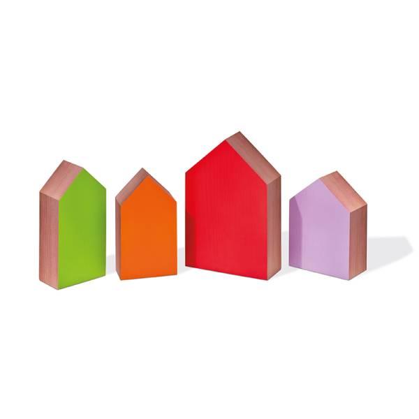 Wachhäuser Zedernholz 4er Set