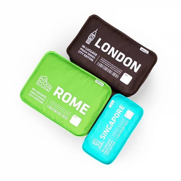 IN-LUGGAGE CITY CUBE Set A