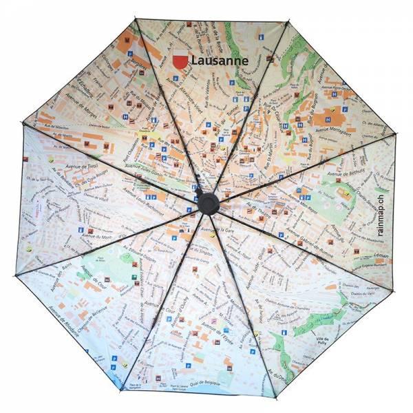 Regenschirm RAINMAP LAUSANNE