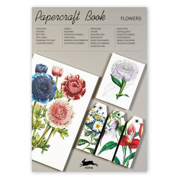 Papercraft Book FLOWERS