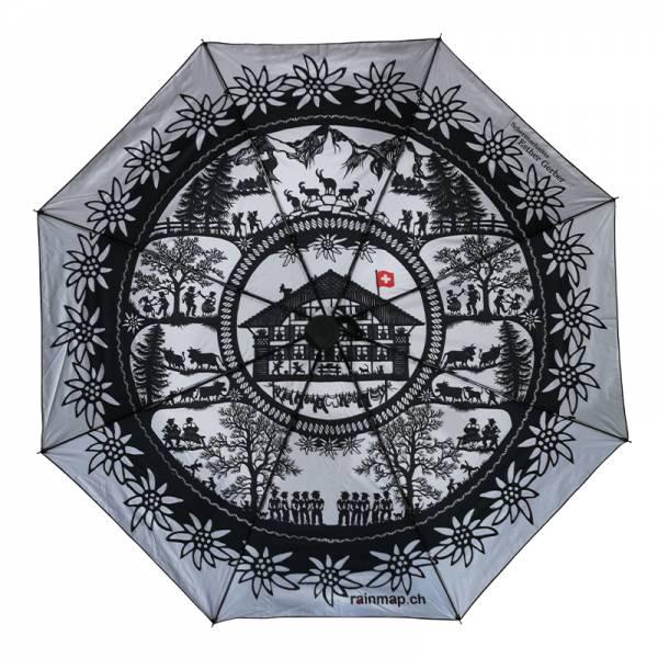 Regenschirm RAINMAP EDELWEISS