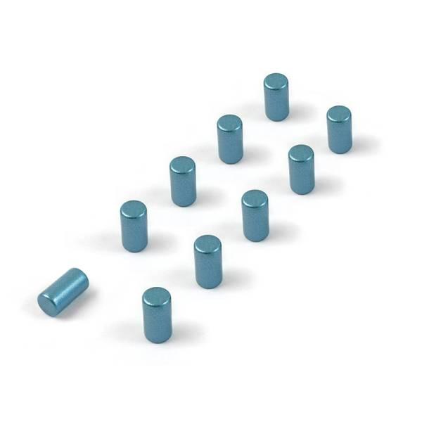 Magnete MAGNUM 10er Set blau
