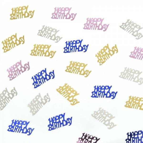 Table Scatter BIRTHDAY