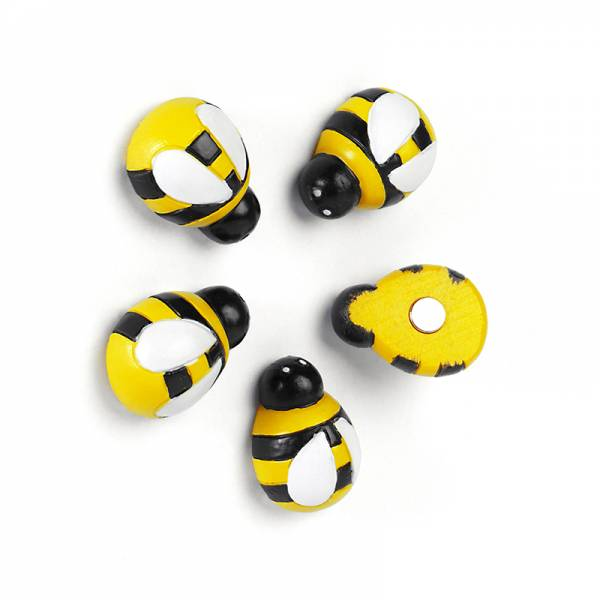 Magnete HONEY BEE 5er Set multicolor CA. ANFANG/MITTE MAI AN LAGER