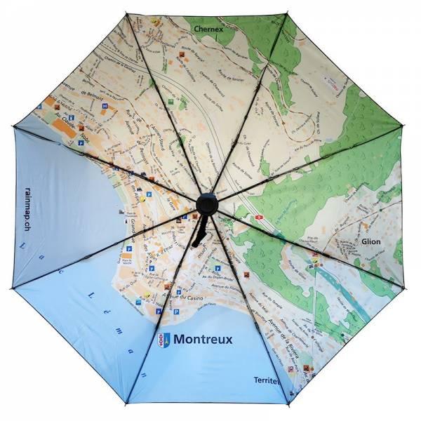 Regenschirm RAINMAP MONTREUX