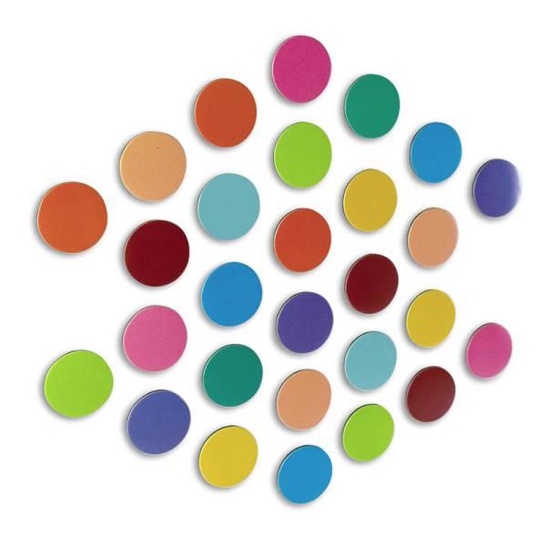Magnetpunkte ELEMENT DOT FLEX multicolor 28er Set