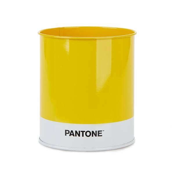 Stiftehalter PANTONE gelb aus Blech