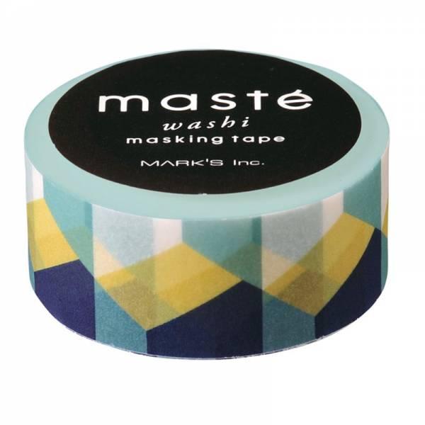 Masking tape MASTÉ MULTI Retro Block 15 mm