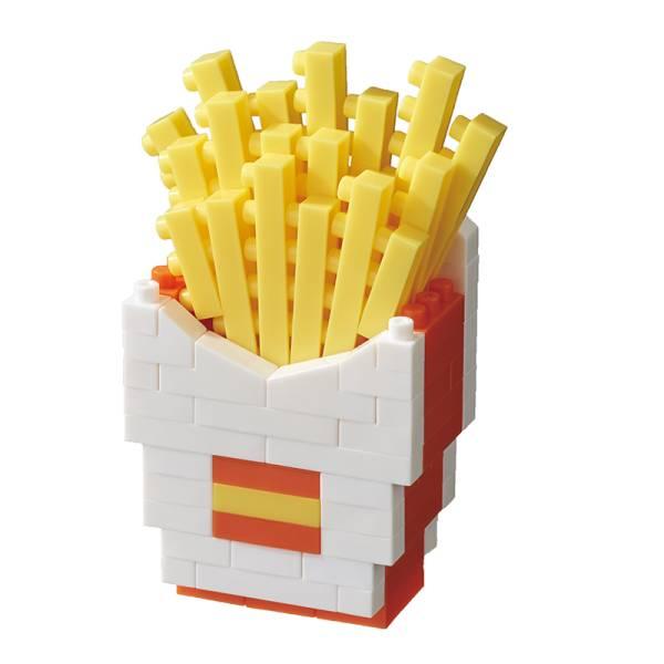 Mini NANOBLOCK French Fries