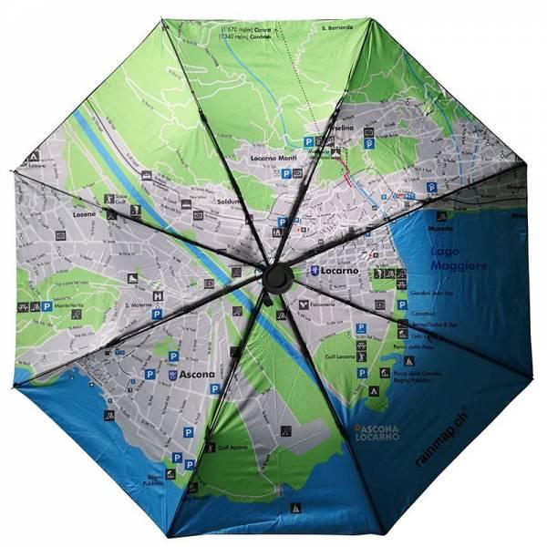 Regenschirm RAINMAP ASCONA-LOCARNO