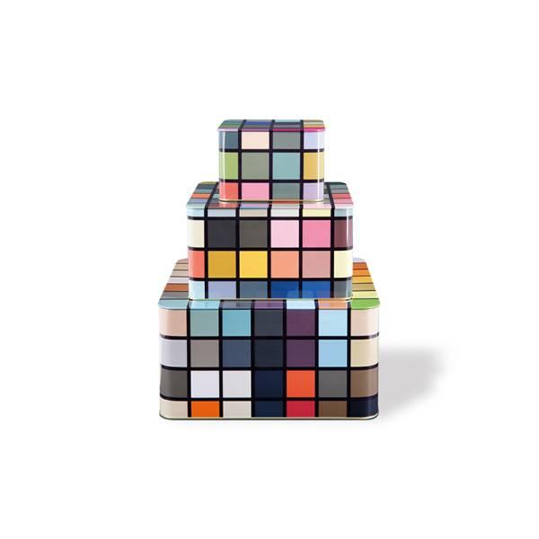 Blechdosenset 3er Set Mosaiko