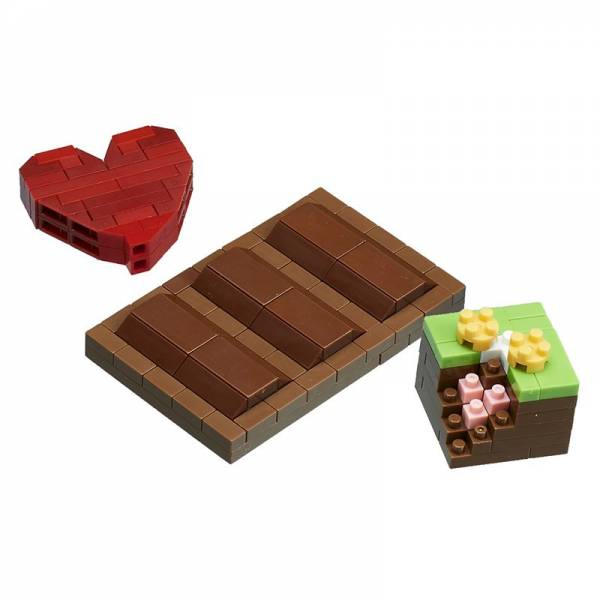 Mini NANOBLOCK Chocolate