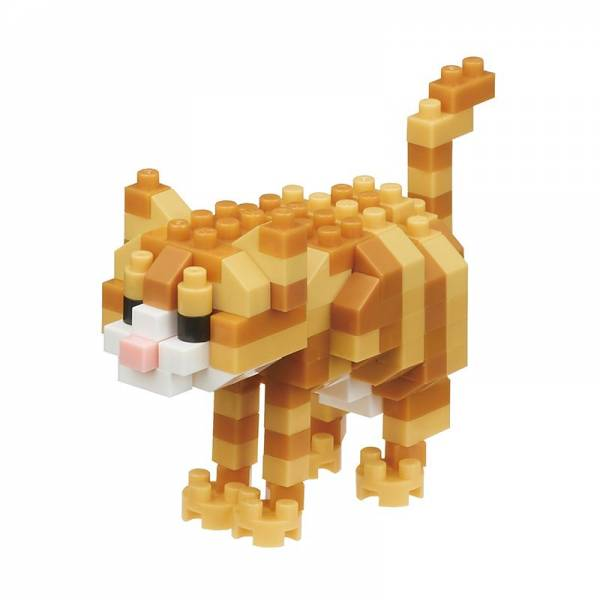 Mini NANOBLOCK Cat breed Tabby Cat