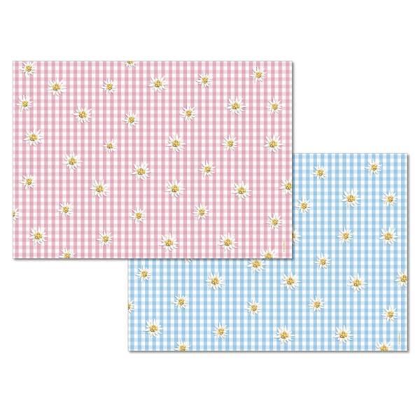 Papiertischset EDELVICHY Mehrfachblock - 2 Sujets à 25 Blatt