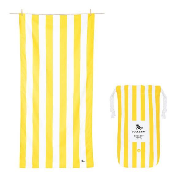 Towel CABANA XL yellow