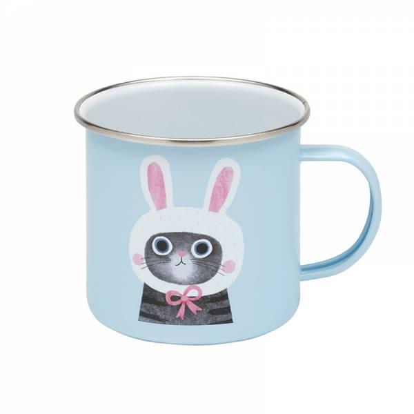 PLANET CATS Enamel Mug 2