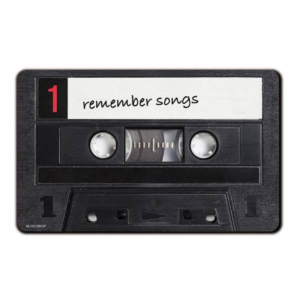 Frühstücksbrettchen Remember Songs