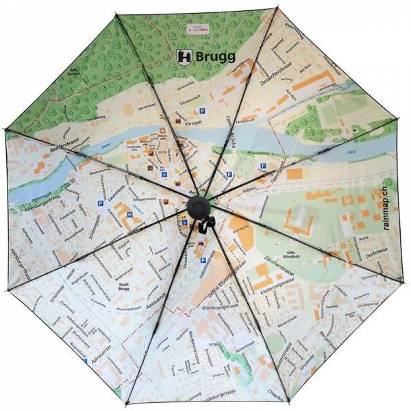 Regenschirm RAINMAP BRUGG